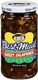 jalapenos sweet Best Maid Nutrition info