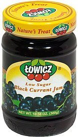 jam black currant Towicz Nutrition info