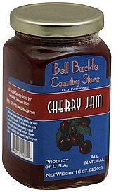 jam cherry Bell Buckle Country Store Nutrition info