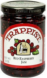 jam red raspberry Trappist Nutrition info
