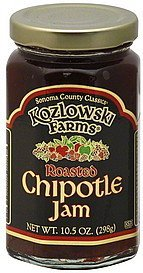 jam roasted, chipotle Kozlowski Farms Nutrition info