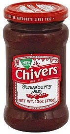 jam strawberry Chivers Nutrition info