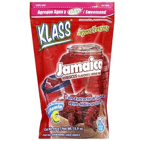 jamaica drink mix Klass Nutrition info
