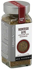 jamaican jerk seasoning montego bite Urban Accents Nutrition info
