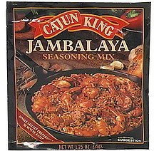 jambalaya seasoning mix Cajun King Nutrition info