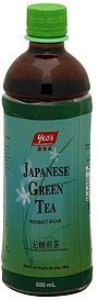 japanese green tea without sugar Yeos Nutrition info