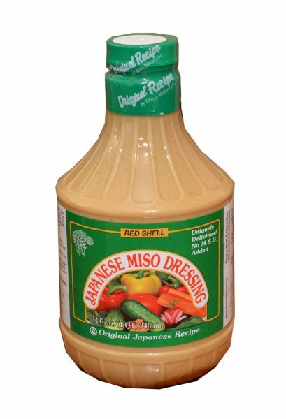 japanese miso dressing Red Shell Nutrition info