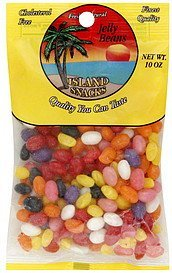 jelly beans Island Snacks Nutrition info