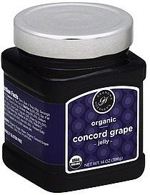 jelly concord grape Grandma Hoerners Nutrition info