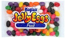 jelly eggs fruit Mayfair Nutrition info
