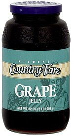 jelly grape Midwest Country Fare Nutrition info