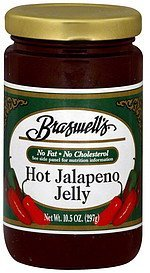 jelly hot jalapeno Braswells Nutrition info