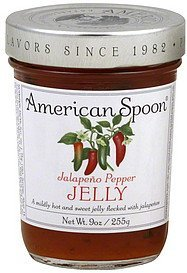 jelly jalapeno pepper American Spoon Nutrition info