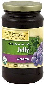 jelly organic grape Nash Brothers Trading Company Nutrition info