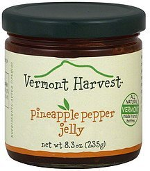 jelly pineapple pepper Vermont Harvest Nutrition info