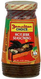 jerk seasoning hot Jamaican Choice Nutrition info