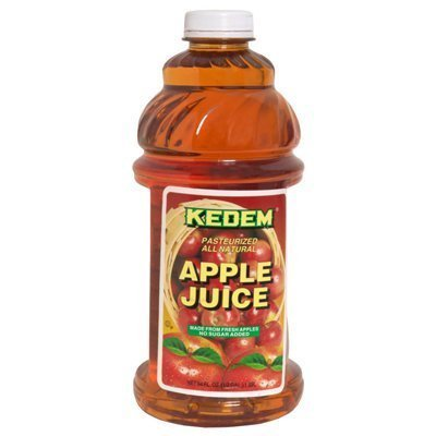 juice apple Kedem Nutrition info
