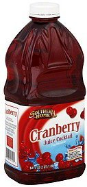 juice cocktail cranberry Southern Home Nutrition info