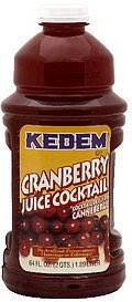 juice cocktail cranberry Kedem Nutrition info