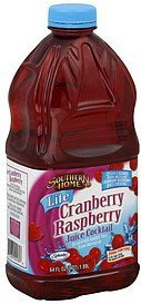 juice cocktail lite, cranberry raspberry Southern Home Nutrition info