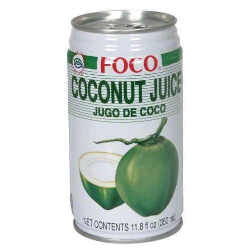juice coconut Foco Nutrition info