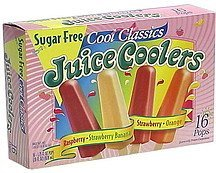 juice coolers Cool Classics Nutrition info