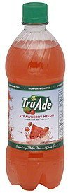 juice drink strawberry melon TruAde Nutrition info