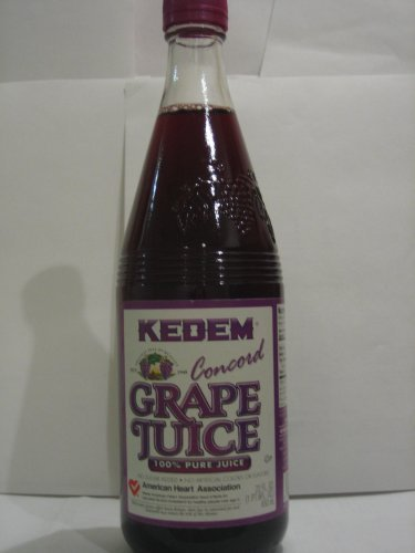juice grape Kedem Nutrition info