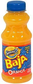 juice orange Sunny D Nutrition info