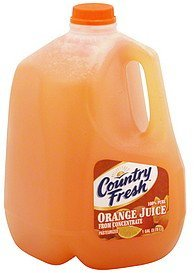 juice orange Country Fresh Nutrition info