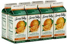juice premium, original orange Sunrise Valley Nutrition info