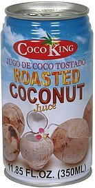 juice roasted coconut Coco King Nutrition info