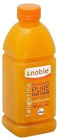 juice tangerine Noble Nutrition info