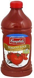 juice tomato Campbells Nutrition info