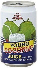 juice young coconut, with pulp Sun & Dragon Nutrition info