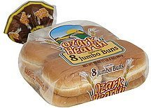 jumbo buns enriched Ozark Hearth Nutrition info