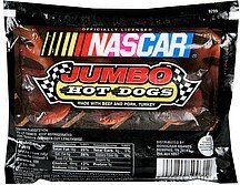 jumbo hot dogs Nascar Nutrition info