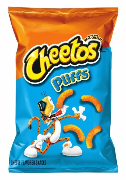 jumbo puffs cheese flavored snacks Cheetos Nutrition info