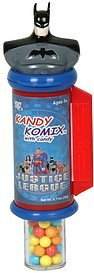 kandy komix with candy, justice league Kandy Kastle Inc. Nutrition info