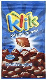 kariot-pillows Klik Nutrition info