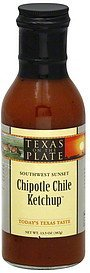 ketchup chipotle chile, southwest sunset Texas On The Plate Nutrition info