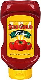 ketchup tomato Red Gold Nutrition info