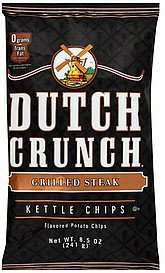 kettle chips grilled steak Old Dutch Nutrition info