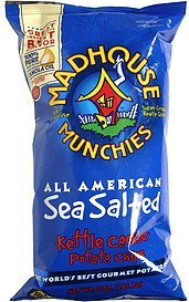 kettle cooked potato chips sea salted Madhouse Munchies Nutrition info
