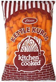kettle kurls cheese Kitchen Cooked Nutrition info
