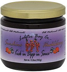 kick'in dipp'in sauce sunshine huckleberry Lobster Bay Co. Nutrition info