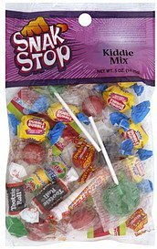 kiddie mix Snak Stop Nutrition info