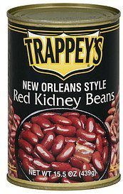 kidney beans red new orleans style Trappeys Nutrition info
