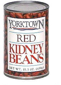 kidney beans red Yorktown Nutrition info