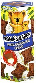 koala's march white chocolate creme Lotte Nutrition info